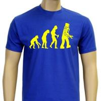 T-Shirt: Robot Evolution