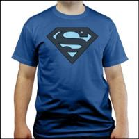 Superman Logo Blau