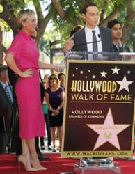 Jim Parsons und Kaley Cuoco-Sweeting